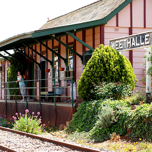 The Whistle Stop Cafe and Museum Weethalle